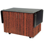 Lakeside 6850 Mobile Breakout Dining Station with Victorian Cherry Laminate Finish - 83 1/2 inch x 30 1/2 inch