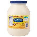 Hellmann's Extra Heavy Mayonnaise 1 Gallon Container - 4/Case
