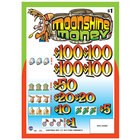 Moonshine Money 3 Window Pull Tab Tickets - 918 Tickets per Deal - $700 Total Payout