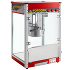 Carnival King PM50R Royalty Series 12 oz. Red Commercial Popcorn Machine / Popper - 120V