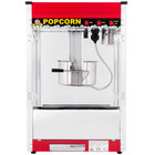 Carnival King PM50R Royalty Series 12 oz. Red Popcorn Popper - 120V
