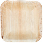 Eco-gecko Sustainable 4 inch Square Palm Leaf Bowl - 25 / Pack