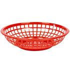 Round Plastic Food Baskets