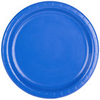 Creative Converting 473147B 9 inch Cobalt Blue Round Paper Plate - 240/Case