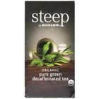 Steep By Bigelow Organic Pure Green Decaffeinated Tea - 20/Box