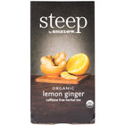 Steep By Bigelow Organic Lemon Ginger Herbal Tea - 20/Box