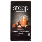 Steep By Bigelow Organic Sweet Cinnamon Black Tea   - 20/Box