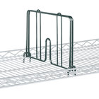 Metro HD24-DSG Smoked Glass Drop Mat Snap-On Divider - 24 inch Wide