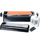 Dexter-Russell 07946 12 inch Manual Tri-Stone Knife Sharpener System