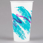 Solo RP28NP-00055 Jazz 28-32 oz. Poly Paper Cold Cup - 480/Case