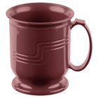 Cambro MDSM8487 Shoreline Collection Cranberry 8 oz. Insulated Mug - 48/Case