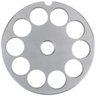 Globe L00775 #12 Meat Grinder Plate - 9/16 inch