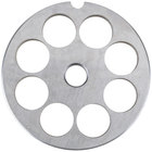 Globe L00776 #12 Meat Grinder Plate - 5/8 inch