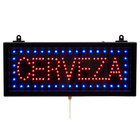 Aarco CER07S Cerveza Beer LED Sign