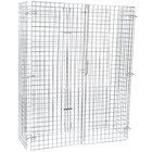 Regency NSF Chrome Wire Security Cage - 18 inch x 48 inch x 61 inch