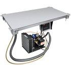 Hatco CSU-24-F Aluminum Built-In Undermount Cold Shelf - 24 inch x 15 1/2 inch