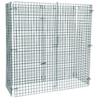 "Regency NSF Green Wire Security Cage - 24"" x 60"" x 61"""