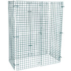 "Regency NSF Green Wire Security Cage - 24"" x 48"" x 61"""