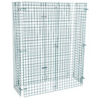 "Regency NSF Green Wire Security Cage - 18"" x 48"" x 61"""