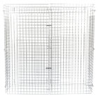 Regency NSF Chrome Wire Security Cage - 18 inch x 60 inch x 61 inch
