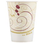 Dart Solo R9N-J8000 Symphony 9 oz. Wax Treated Paper Cold Cup - 100/Pack