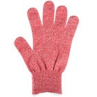 San Jamar SG10-RD-M Red Cut Resistant Glove with Dyneema - Medium