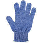 San Jamar SG10-BL-S Blue Cut Resistant Glove with Dyneema - Small