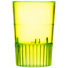 Fineline Quenchers 4110-Y 1 oz. Neon Yellow Hard Plastic Shooter Glass - 500/Case