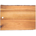 Tablecraft ACAR1409 Acacia Wood Rectangular Serving Board - 14 inch x 9 1/2 inch x 3/4 inch