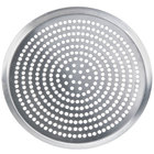 American Metalcraft CAR21SP 21 inch Super Perforated Heavy Weight Aluminum CAR Pizza Pan
