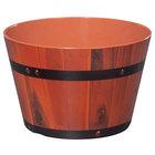 GET ML-271-BE 2.6 Gallon Melamine Gourmet Barrel - 3/Pack