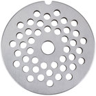 Avantco MG2246 #22 Stainless Steel Grinder Plate for MG22 Meat Grinder - 1/4