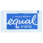 Equal 1 Gram Sugar Substitute Packets - 2000/Case