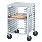 Advance Tabco PZ12 Mobile Pizza Pan Rack - 12 Pan Capacity