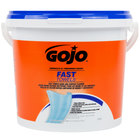 GOJO® 6298-04 Fast Towels Hand Cleaning Wipes 130 Count Bucket - 4/Case