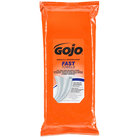 GOJO® 6285-06 Fast Towels Hand Cleaning Wipes 60 Count Tool Box Pack - 6/Case