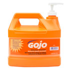 GOJO® 0945-04 1 Gallon Natural Orange Smooth Hand Cleaner - 4/Case