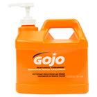 GOJO® 0948-04 1/2 Gallon Natural Orange Smooth Hand Cleaner - 4/Case