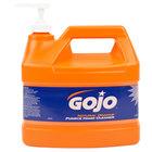 GOJO® 0955-04 1 Gallon Natural Orange Pumice Hand Cleaner   - 4/Case