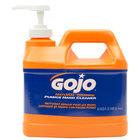 GOJO® 0958-04 1/2 Gallon Natural Orange Pumice Hand Cleaner - 4/Case