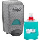 GOJO&#174&#x3b; 5268-D2 DPX Eco Soy 2000 mL Hand Cleaner Dispenser Kit