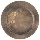 Lodge U5RP 9 1/2 inch Round Walnut Stain Wood Underliner