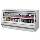 Turbo Air TCDD-96L-W-N 96 inch White Low Profile Curved Glass Refrigerated Deli Case