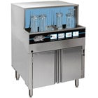 CMA Dishmachines GL-C Low Temperature Chemical Sanitizing Undercounter Glass Washer - 208-230V