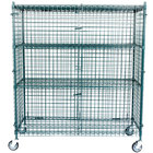 Regency NSF Mobile Green Wire Security Cage Kit -24