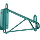 Metro 1WD24C Super Erecta Chrome Single Direct Wall Mount Bracket for 24 inch Shelf