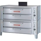 Blodgett 911 Liquid Propane Compact Double Deck Oven with Draft Diverter - 54,000 BTU