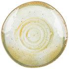 Carlisle GA5500870 Gathering 7 inch Adobe Round Melamine Bread and Butter Plate - 12/Case