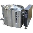 Blodgett KLT-40GS Natural Gas 40 Gallon Short Height Tilting Quad-Leg Gas Steam Jacketed Kettle - 125,000 BTU