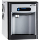 "Follett 7CI100A-NW-CF-ST-00 7 Series 14 5/8"" Air Cooled Chewblet Countertop Ice Maker and Dispenser with Filter - 7 lb."